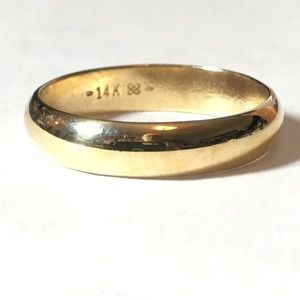14KT SOLID GOLD BAND